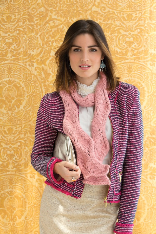 classic elite bulky scarf