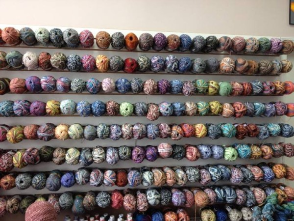 wall o sock yarn