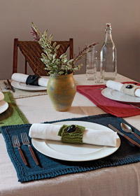 moss placemats