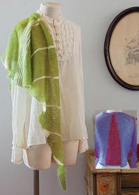 moss wisp shawl