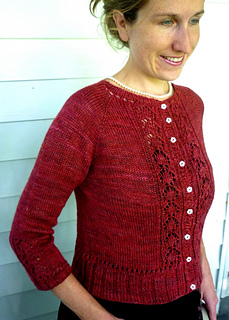 Greenwich Village Cardigan by Linda Wilgus