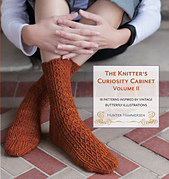 Giveaway & Book Review: The Knitter's Curiosity Cabinet vol II, by Hunter Hammersen