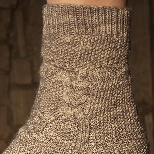 Kentley Socks by Heather Ordover