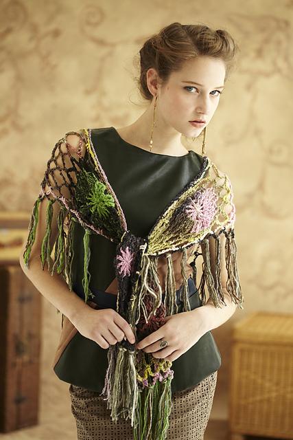 noro lacy shawl
