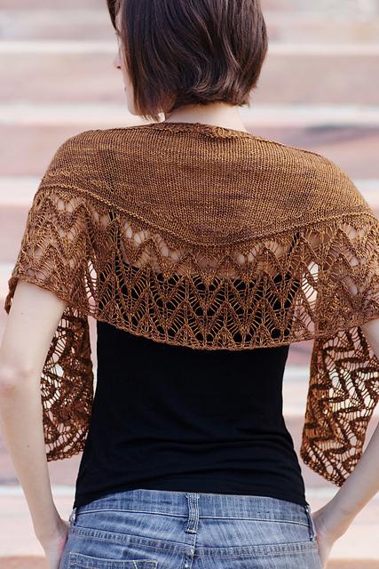 hunter fucus shawl