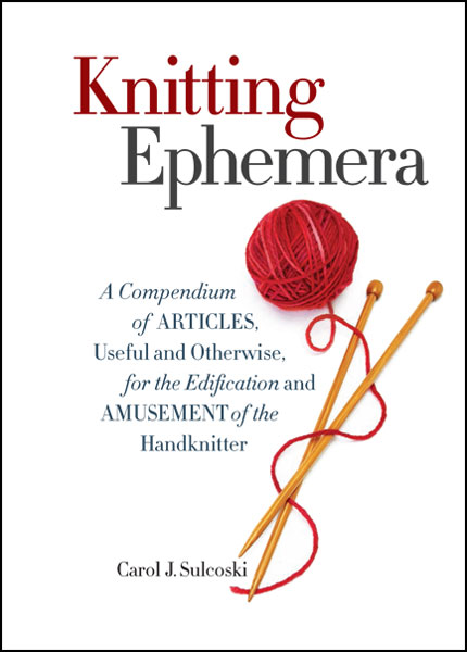 Knitting-Ephemera