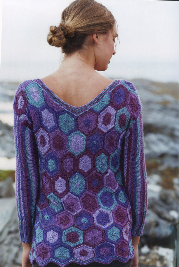 Hexagon Sweater, Amy Gunderson